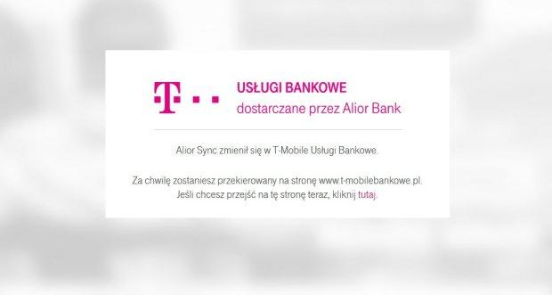 Alior Sync przeszedł do historii. T-Mobile prezentuje swój bank