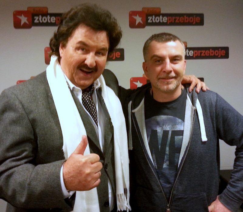 Krzysztof Krawczyk i Tomek Brhel