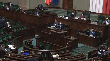 Sejm nocą z 27 na 28 marca