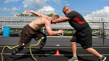 A.J. Digby trenuje przed igrzyskami paraolimpijskimi