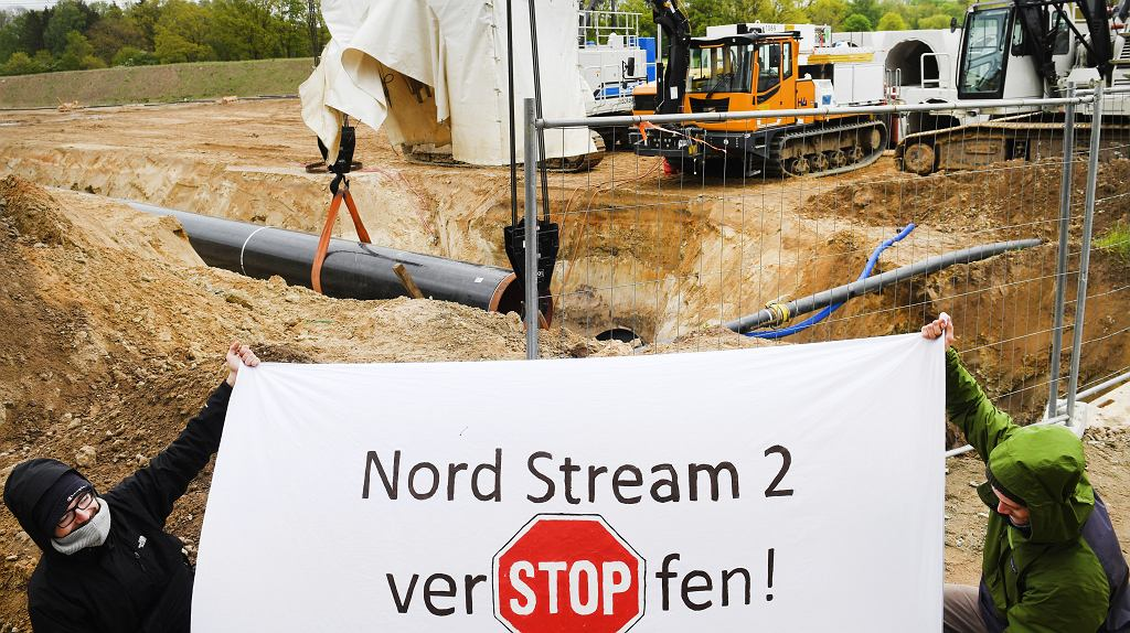 Germany Pipeline Protest