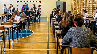 Egzamin gimnazjalny w Zespole Szkół Ponadpodstawowych nr 2 w Kielcach