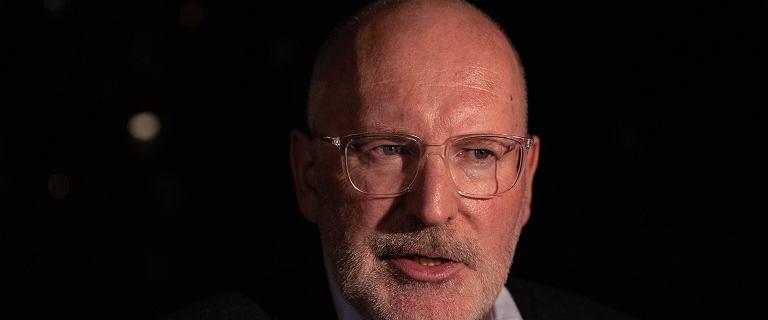 Frans Timmermans w Warszawie: Byłem ofiarą księdza pedofila