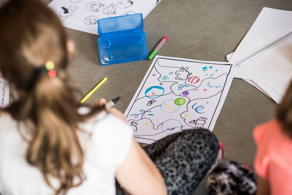 Warsztaty dla dzieci w MSN / fot. JAKUB MOZOLEWSKI