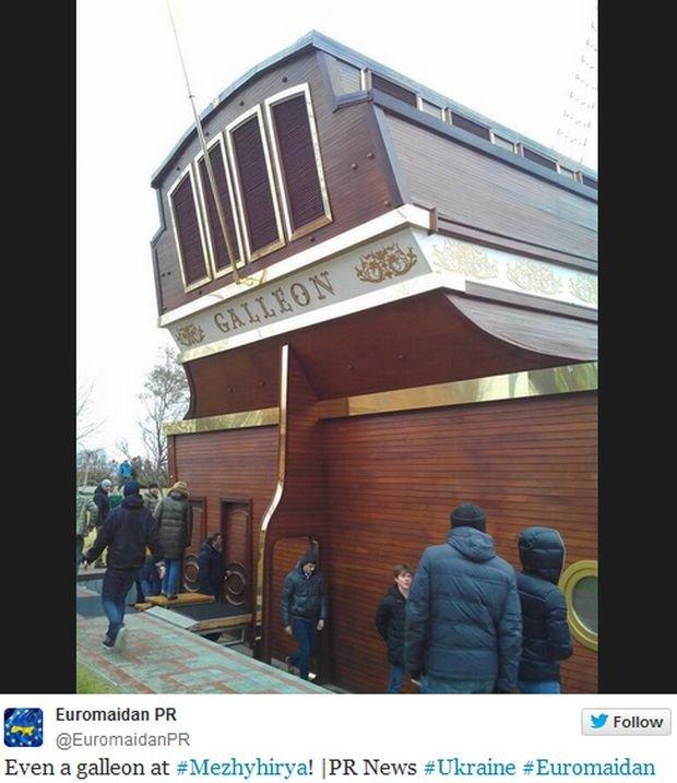 Rezydencja Wiktora Janukowycza