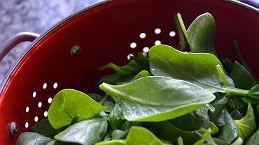 Szpinak - zielone liście pełne skarbów