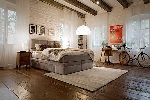 Łóżko kontynentalne, które zapewni komfortowy wypoczynek