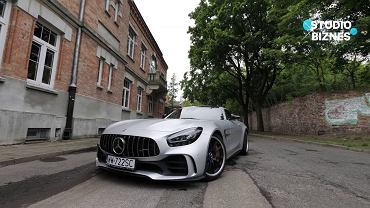 Mercedes-AMG GT R w Studiu Biznes