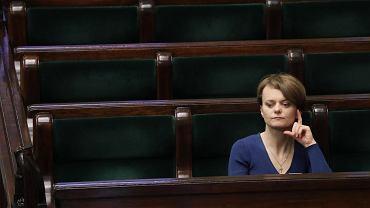 Emilewicz twierdzi, że nie słyszała w Sejmie o