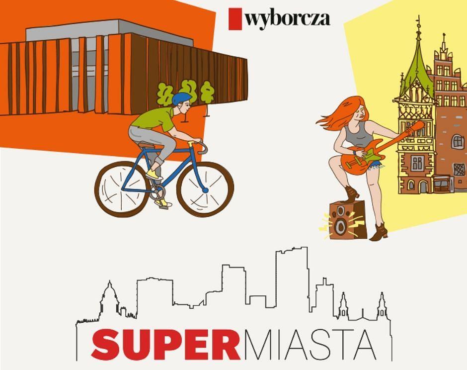 'Magazynie Supermiasta' już we wtorek, 16 czerwca w 'Wyborczej'.