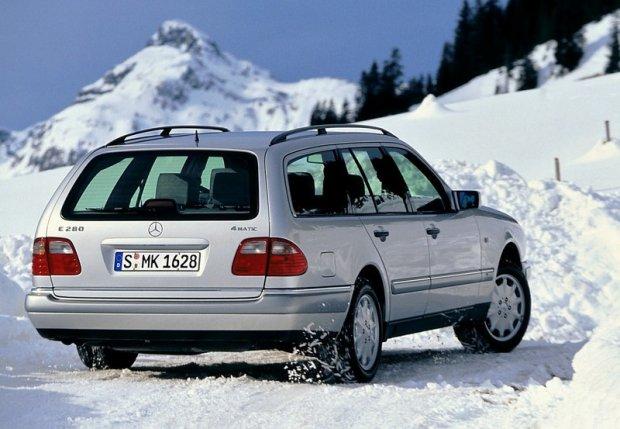 Mercedes klasy E (W210) 1997 r.