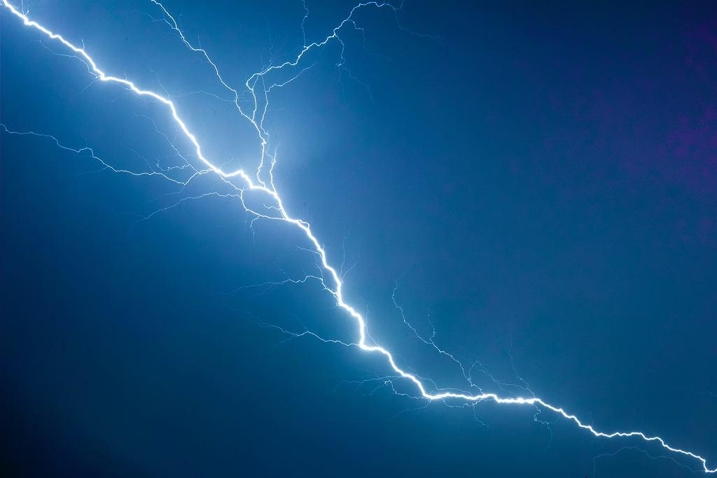 Pogoda. IMGW ostrzega przed burzami z gradem (zdjęcie ilustracyjne)