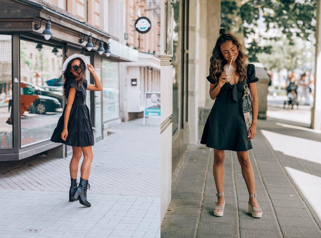 Czarne sukienki Laurella