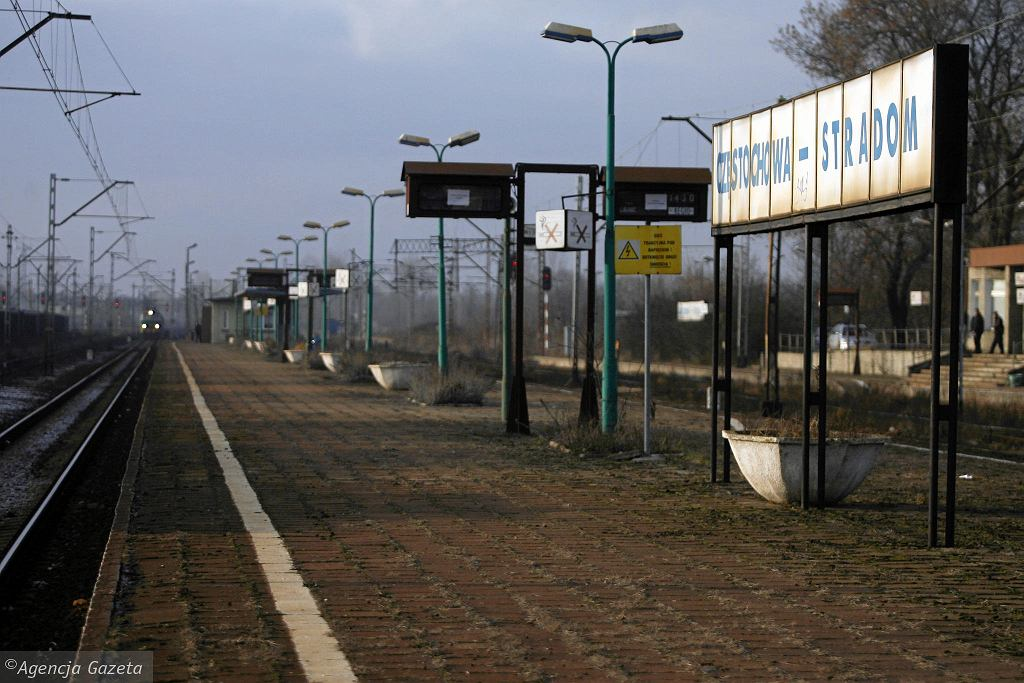Dworzec Częstochowa Stradom w 2011 roku