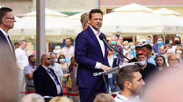 Wybory prezydenckie 2020. Rafał Trzaskowski w Olsztynie