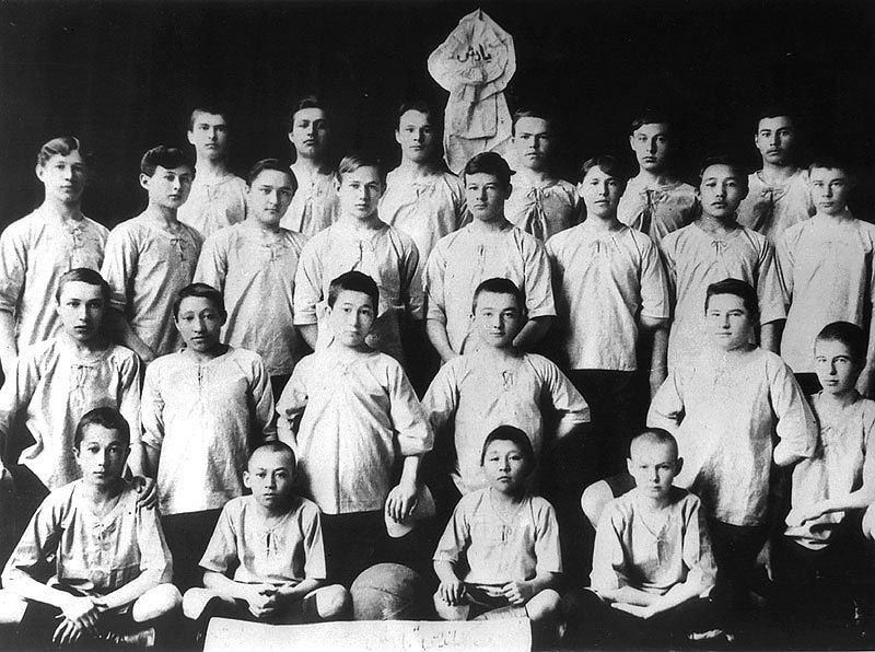 Drużyna Jarysz Semipałatyńsk z 1913 roku