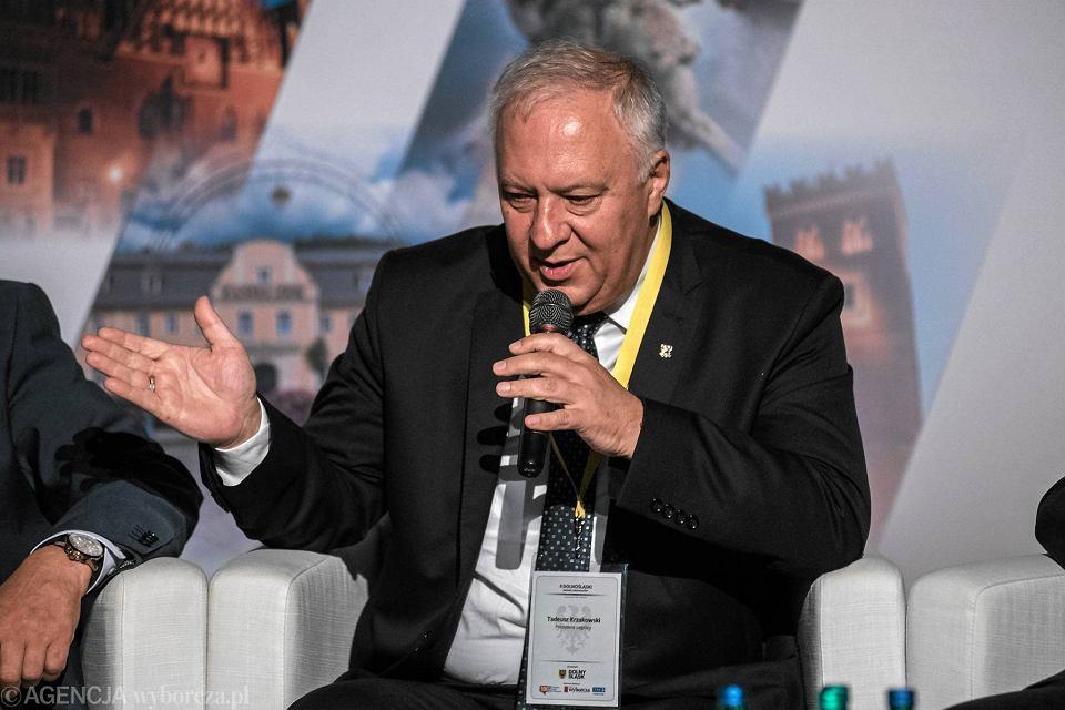 Prezydent Legnicy Tadeusz Krzakowski