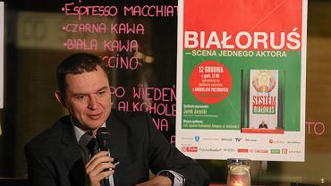Andrzej Poczobut, działacz polskiej mniejszości na Białorusi i dziennikarz