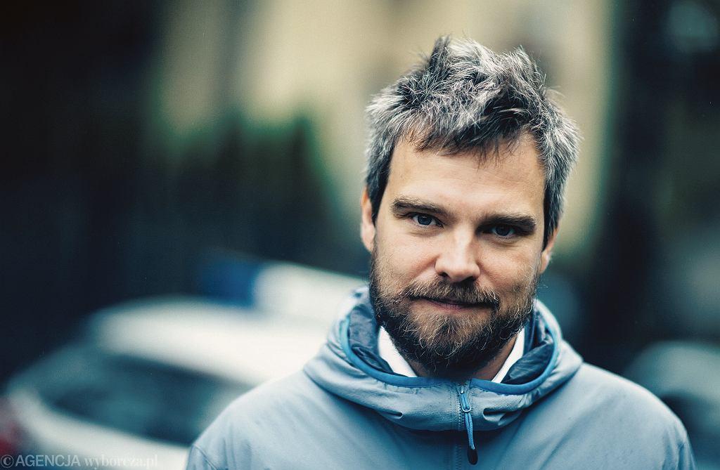 Pisarz Zygmunt Miłoszewski, jeden z artystów najmocniej zaangażowanych w tworzenie funduszu ubezpieczeń dla twórców