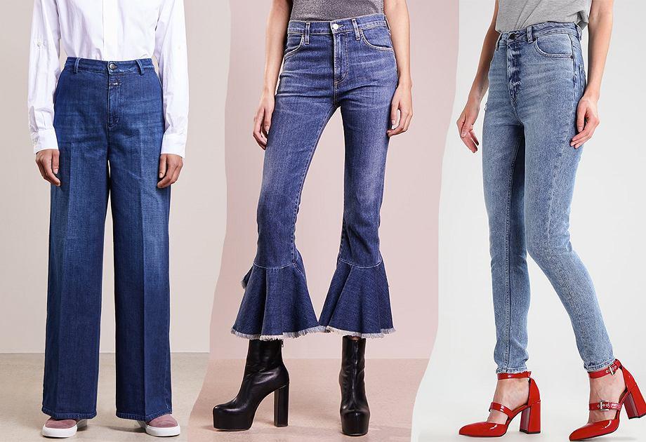 72aff3ffd97cd2 Modne jeansy - te modele będziemy nosić w 2018 roku [przegląd]