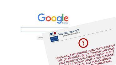 Google odcięte przez ustawę antyterrorystyczną