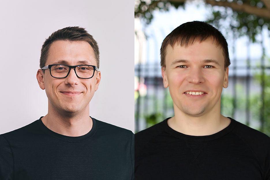 Alex Shevchenko i Max Lytvyn, twórcy Grammarly