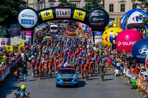 Tour de Pologne: czas, start!