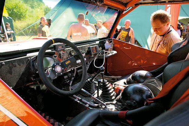Mój pierwszy raz: off road, mój pierwszy raz, samochody, Samo uruchomienie wyciągarki to sekwencja kilku przycisków