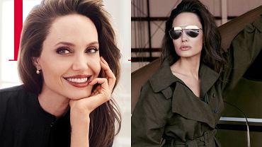 Angelina Jolie w 'Elle'