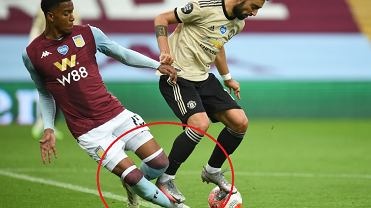Skandal w meczu Aston Villa - Manchester United