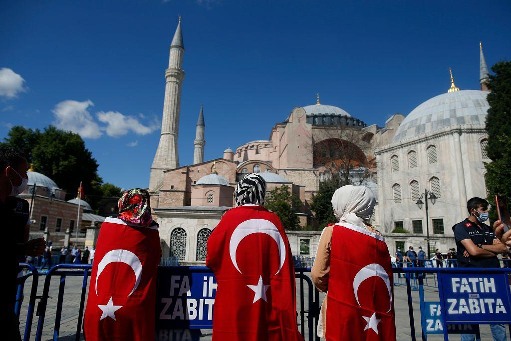 Hagia Sophia została przekształcona w meczet