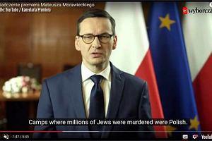 """Wpadka z tłumaczeniem orędzia Morawieckiego. """"Obozy były polskie..."""""""