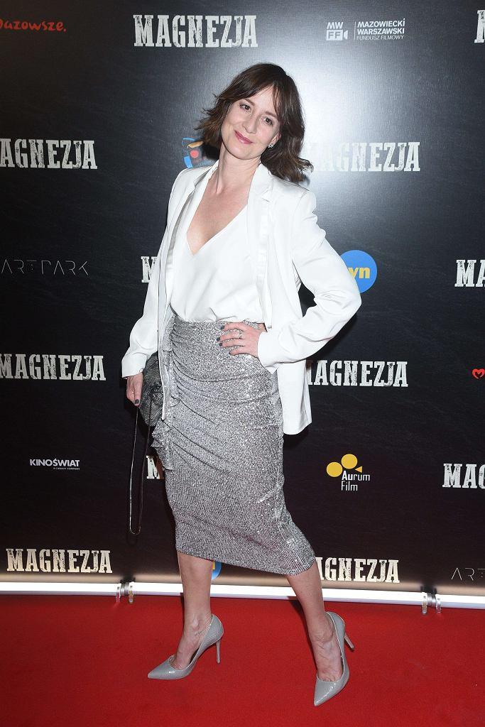 Maja Ostaszewska - premiera filmu 'Magnezja'