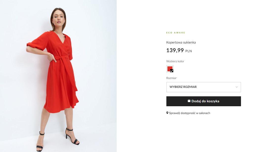 Sukienka Mohitop