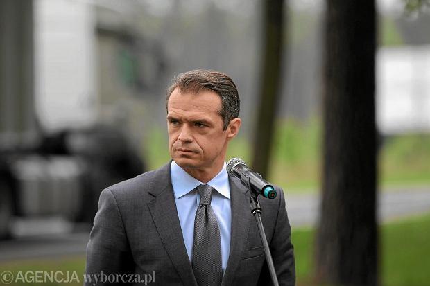 Były minister transportu Sławomir Nowak