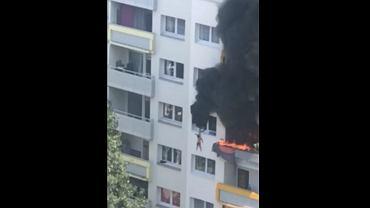 Francja. Pożar w bloku w Grenoble
