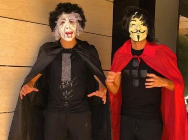 Zdjęcie numer 0 w galerii - Gwiazdy sportu świętują Halloween! Niezwykłe kostiumy [ZDJĘCIA]