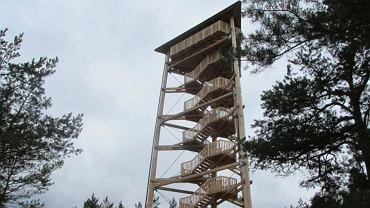 Wieża widokowa w okolicy Wolsztyna