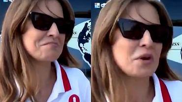 Hiszpański dziennikarz zadał Annie Lewandowskiej niewygodne pytanie. Trenerka próbowała wybrnąć i... szybko uciekła