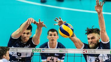Onico Warszawa podczas meczu Plus Ligi