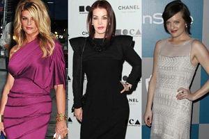 Kirstie Alley, Priscilla Presley, Elisabeth Moss.