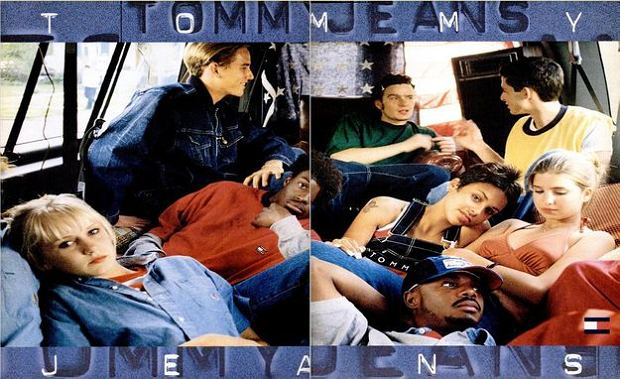 Kampania Tommy Hilfiger Jeans - Ivanka Trump pierwsza z prawej