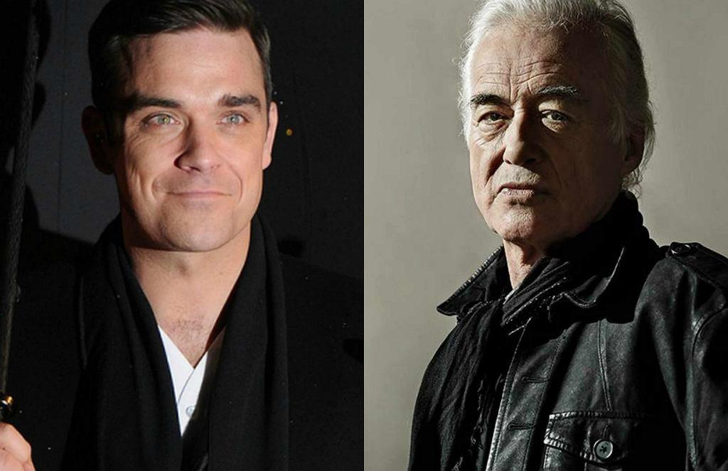 Robbie Williams i Jimmy Page