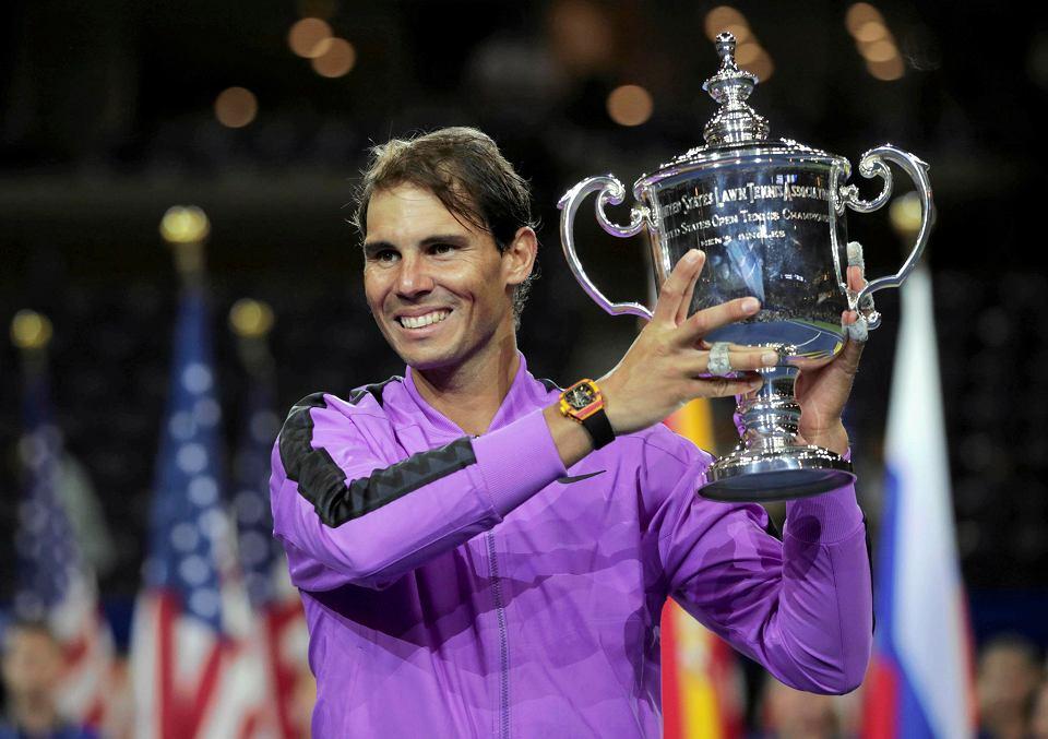 Rafael Nadal, mistrz US Open 2019