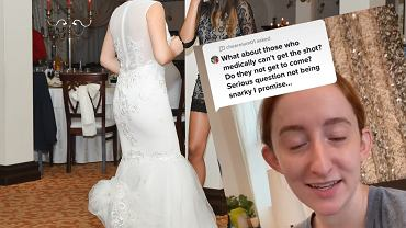 Panna młoda kazała gościom zaszczepić się przed weselem
