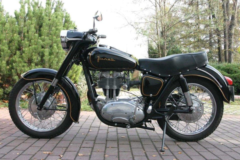 Junak ze Szczecińskiej Fabryki Motocykli