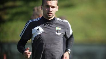 Damian Garbacik zobaczył w meczu finałowym czerwoną kartkę.