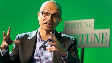 Satya Nadella, prezes Microsoftu