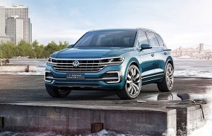 Salon Pekin 2016 | Volkswagen T-Prime Concept GTE | Rozgrzewka przed dużym SUV-em