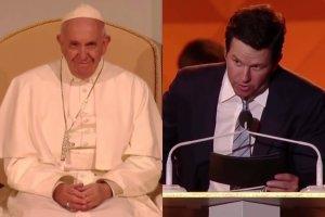 Papież Franciszek, Mark Wahlberg